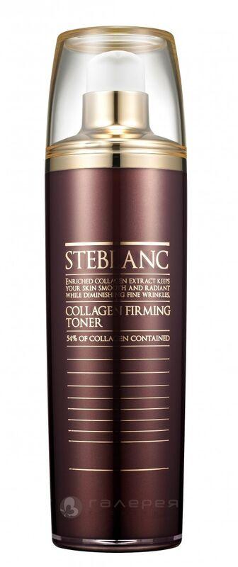 Уход за лицом Steblanc Тоник лифтинг для лица с коллагеном (54%) Collagen Firming Toner 120 мл - фото 1