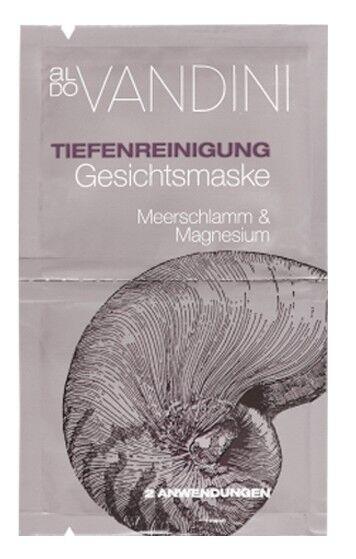 Уход за лицом Aldo Vandini Глубоко очищающая маска для лица «Морская грязь и Магнезия» Deep Cleansing Face Mask Marine Mud & Magnesium - фото 1