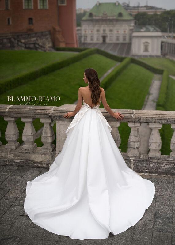 Свадебное платье напрокат Blammo-Biamo Платье свадебное The Rice Reinis - фото 2