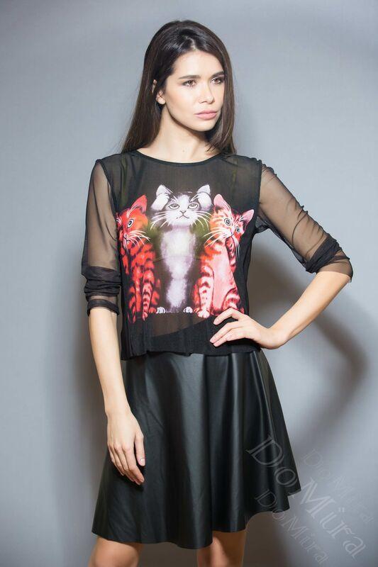 Кофта, блузка, футболка женская DoMira Блуза М-03-44-1 - фото 1