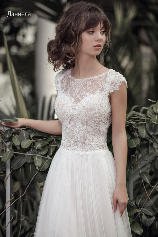 Свадебное платье напрокат Vintage Платье свадебное «Даниела» - фото 3