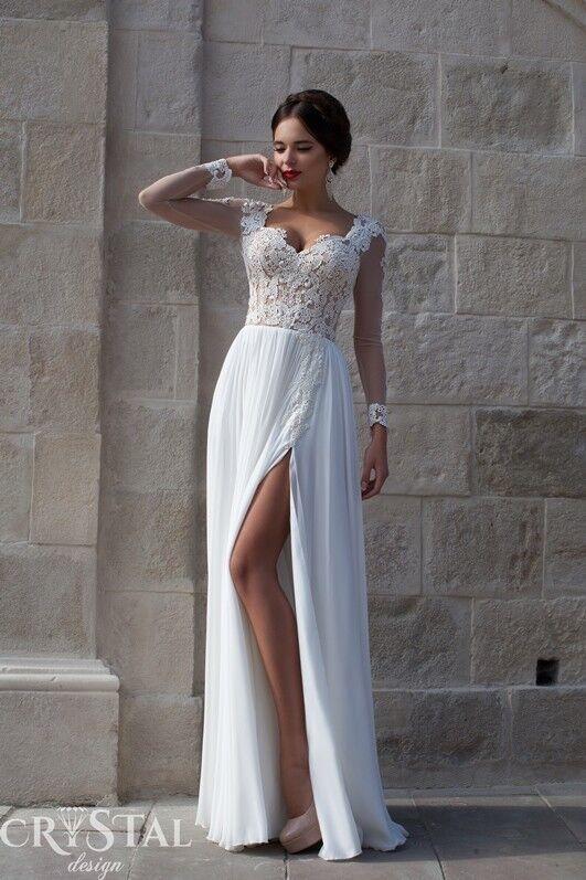 Свадебное платье напрокат Crystal Свадебное платье  Bristol - фото 1
