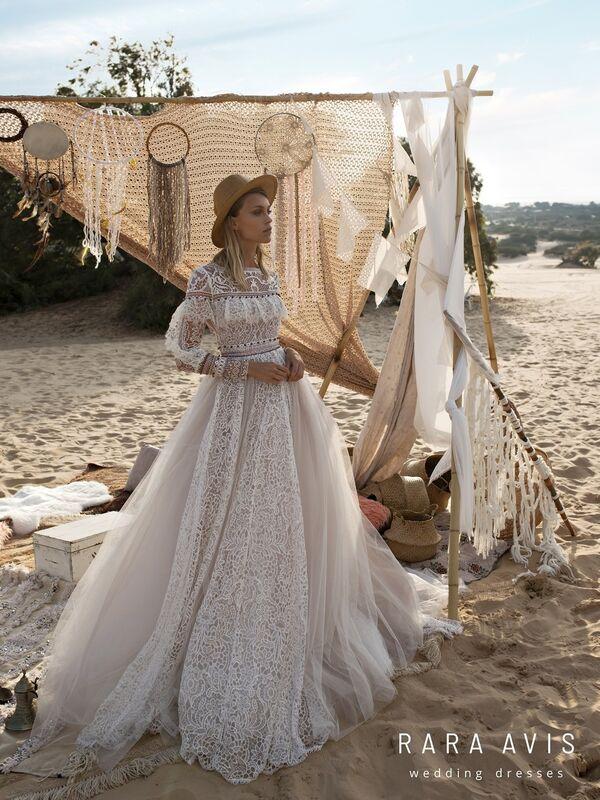 Свадебное платье напрокат Rara Avis Свадебное платье Wild Soul Alyfi - фото 5
