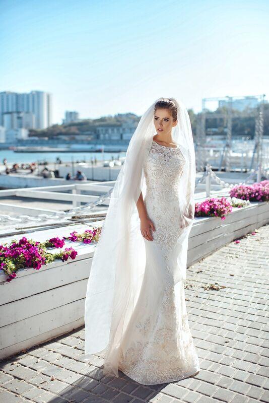 Свадебное платье напрокат Nicole Платье свадебное Sarra - фото 1