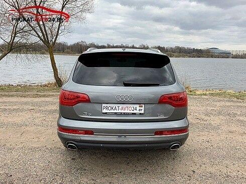 Прокат авто Audi Q7 2012 серый - фото 2