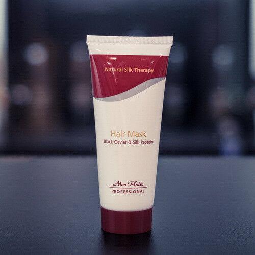 Уход за волосами Mon Platin Маска для волос на основе экстракта черной икры и протеинов шелка, 100 мл - фото 1