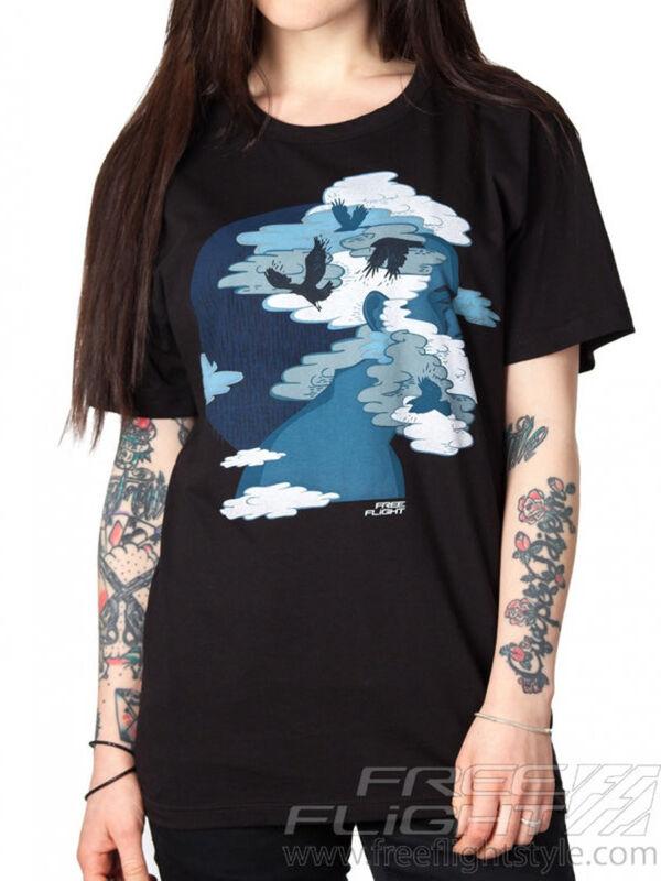 Кофта, блузка, футболка женская Free Flight Футболка «Мозги» SKU0052000 - фото 1