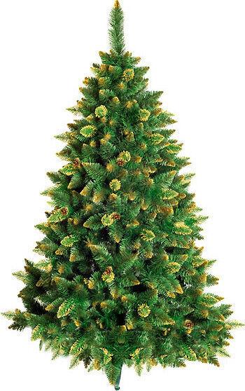 Елка и украшение Christmas Tree Сосна «LUX Золотые побеги» 1.5м - фото 1