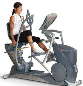 Тренажер Octane Fitness Эллиптический тренажер с дополнительным экраном XR6000 Bundle - фото 1