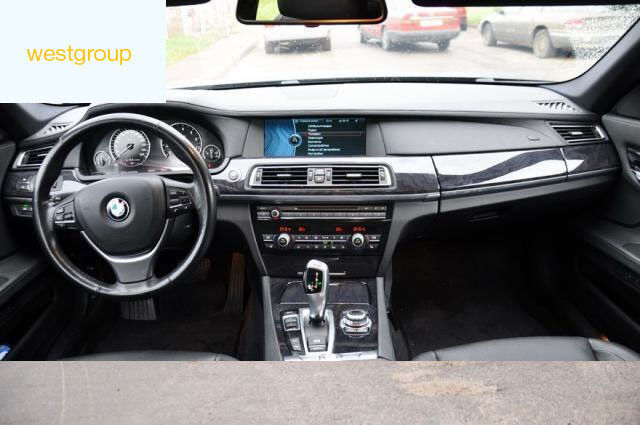 Аренда авто BMW F01/F02 2012 Черный - фото 4