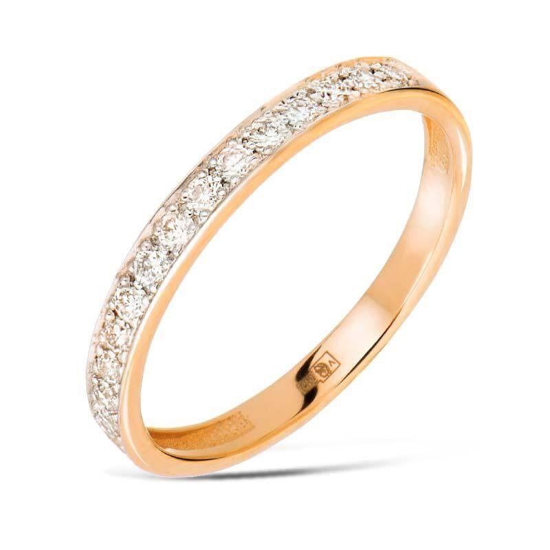 Ювелирный салон Jeweller Karat Кольцо обручальное с бриллиантами арт. 1215962 - фото 1