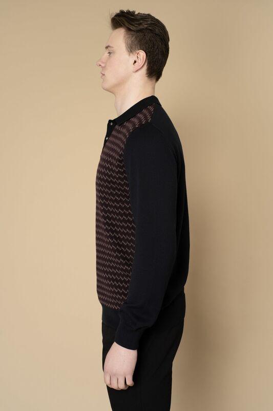 Кофта, рубашка, футболка мужская Etelier Джемпер мужской  tony montana 211395 - фото 3