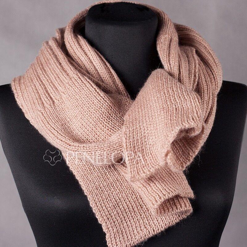 Шарф и платок PENELOPA Бежевый шарф M3 - фото 1