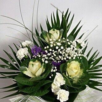 Магазин цветов Цветочник Букет с брасикой - фото 1