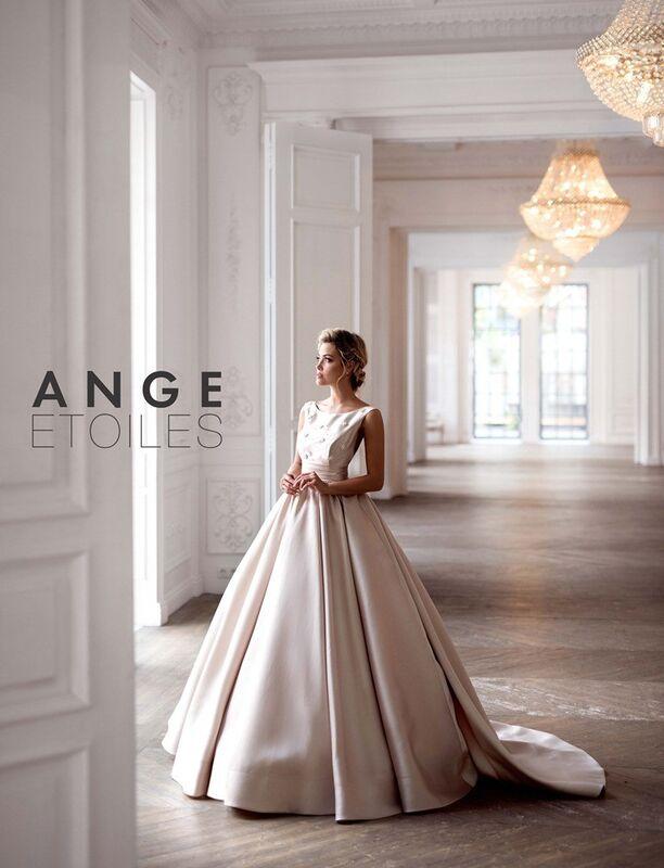 Свадебное платье напрокат Ange Etoiles Платье свадебное Charm 2017 Bridget - фото 1