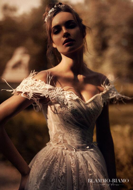 Свадебный салон Blammo-Biamo Свадебное платье The Rice  Lelei - фото 5