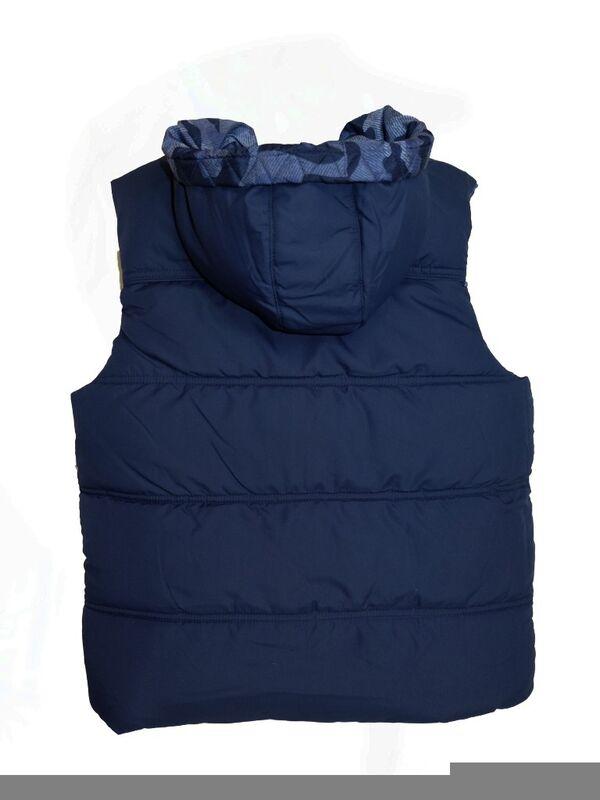 Верхняя одежда детская Sarabanda Жилет утепленный для мальчика 0.N390.90 - фото 2