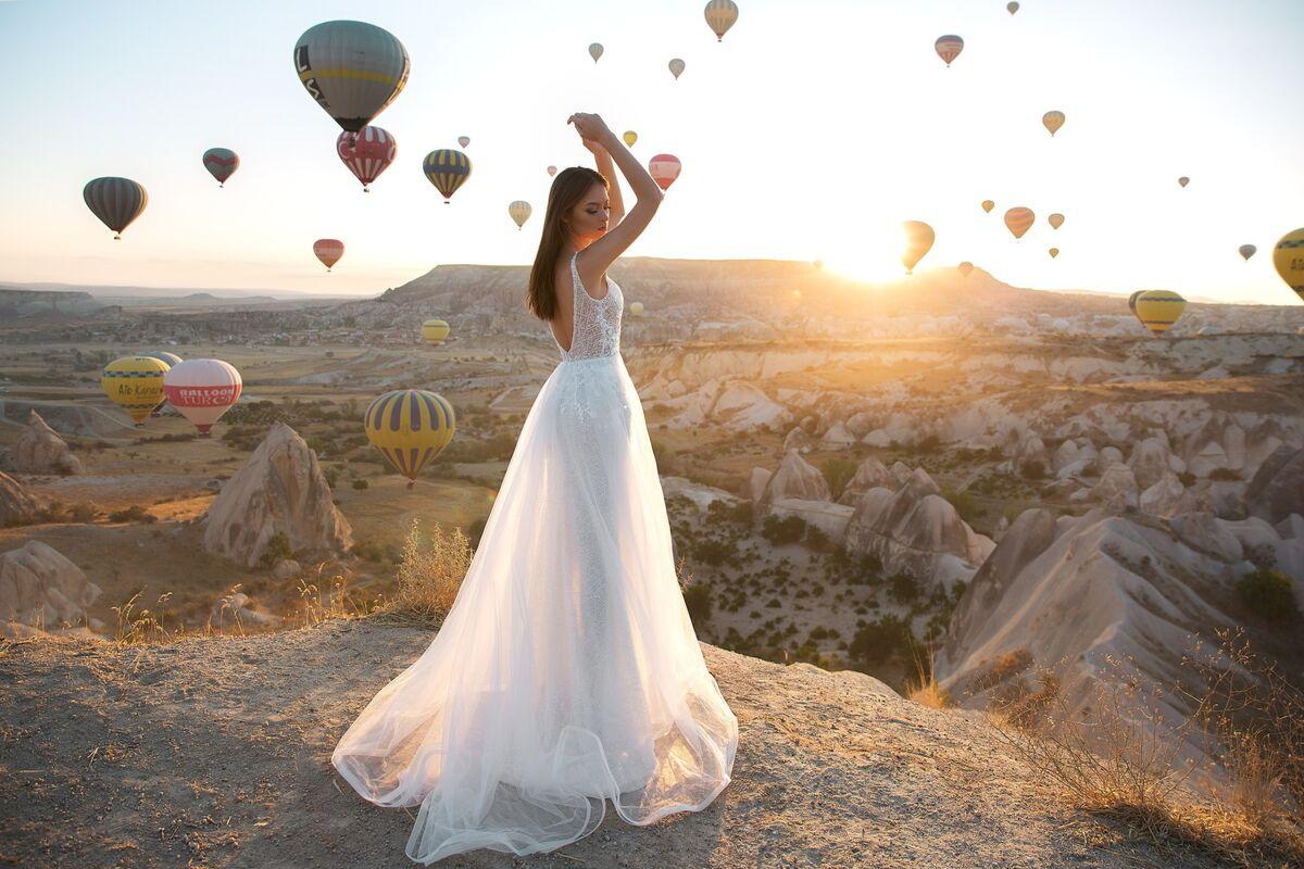 Свадебное платье напрокат Eva Lendel Kristina - фото 2