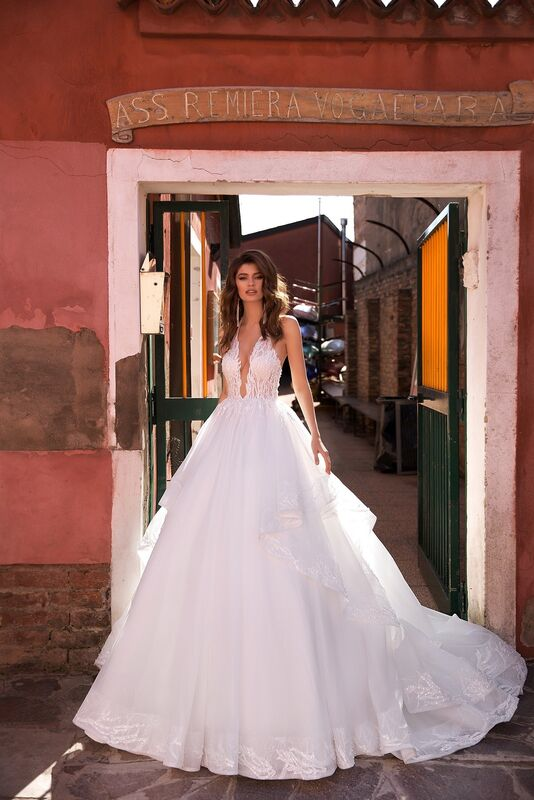 """Свадебное платье напрокат ALIZA свадебное платье """"Benetty"""" - фото 1"""
