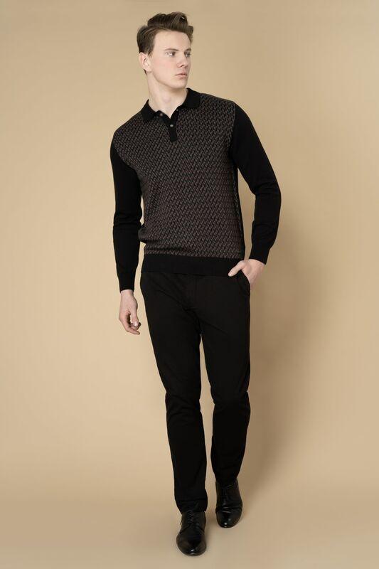 Кофта, рубашка, футболка мужская Etelier Джемпер мужской  tony montana 211395 - фото 8