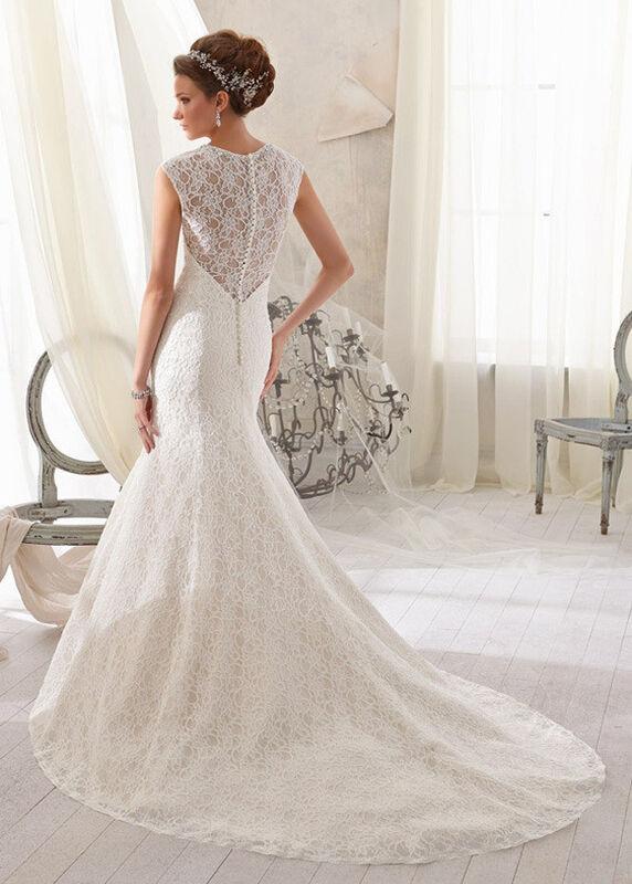 Свадебное платье напрокат Mori Lee Платье свадебное 5214 - фото 2