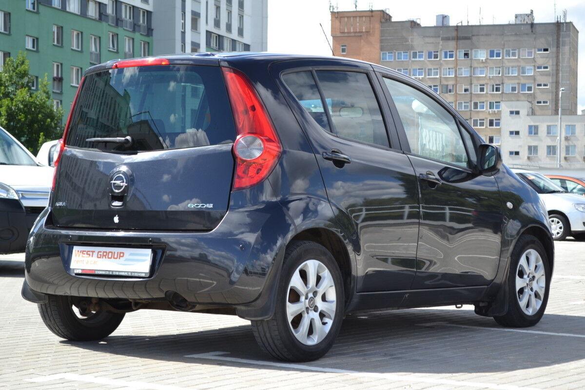 Аренда авто Opel Agila 2010 - фото 4