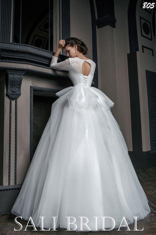 Свадебный салон Sali Bridal Свадебное платье 805 - фото 3