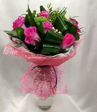 Магазин цветов Цветочник Букет роз «Топаз» - фото 1