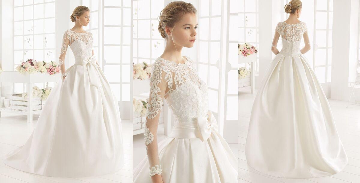Свадебное платье напрокат Rosa Clara Платье свадебное Midas - фото 2