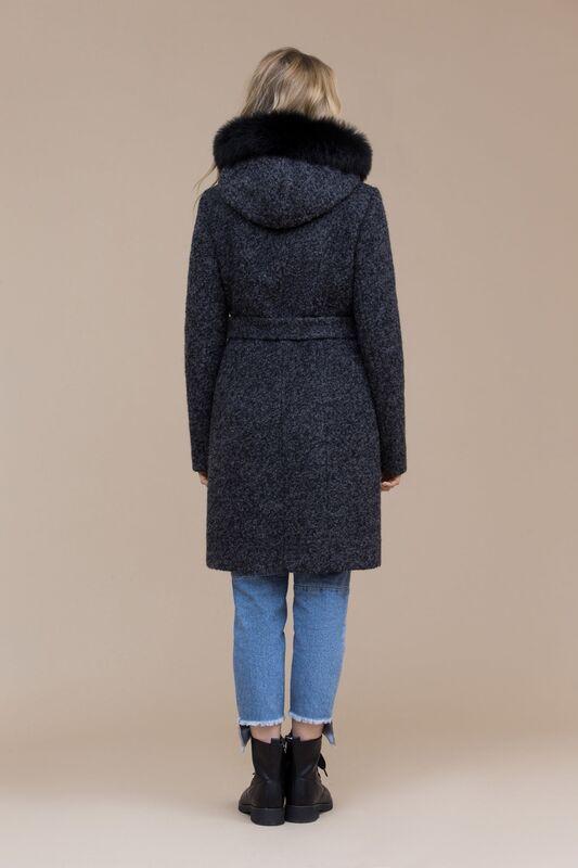 Верхняя одежда женская Elema Пальто женское зимнее 7-8109-1 - фото 2