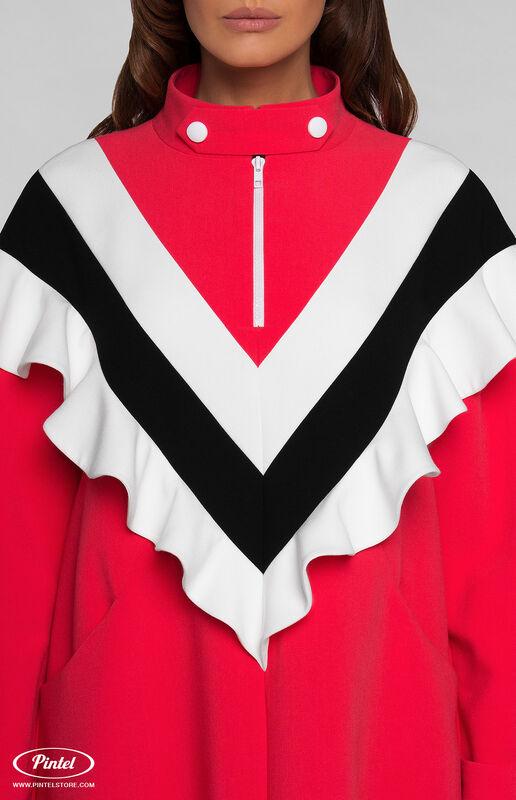 Платье женское Pintel™ Платье-свитшот в романтическом стиле FELISHA - фото 3