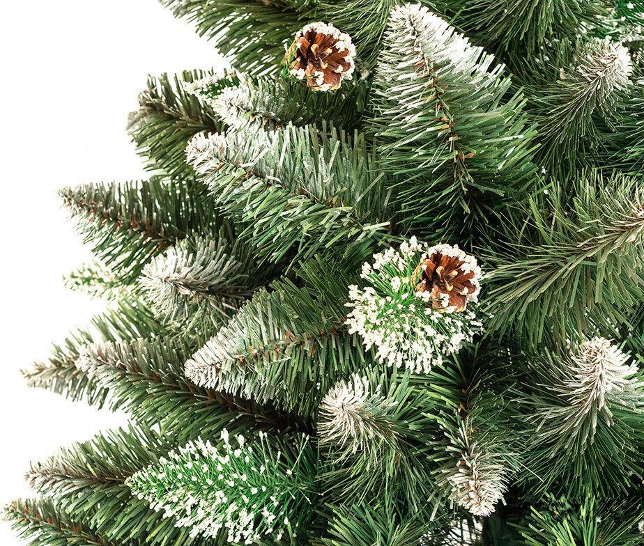 Елка и украшение Christmas Tree Сосна «LUX Снежная королева» 1.5м - фото 2