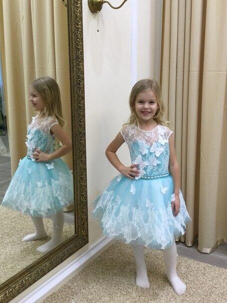 Вечернее платье Childrendress Пышное нарядное детское платье 0007-16 - фото 3