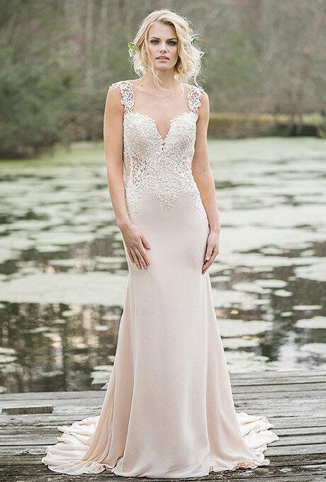 Свадебное платье напрокат Lillian West Свадебное платье 6454 - фото 1