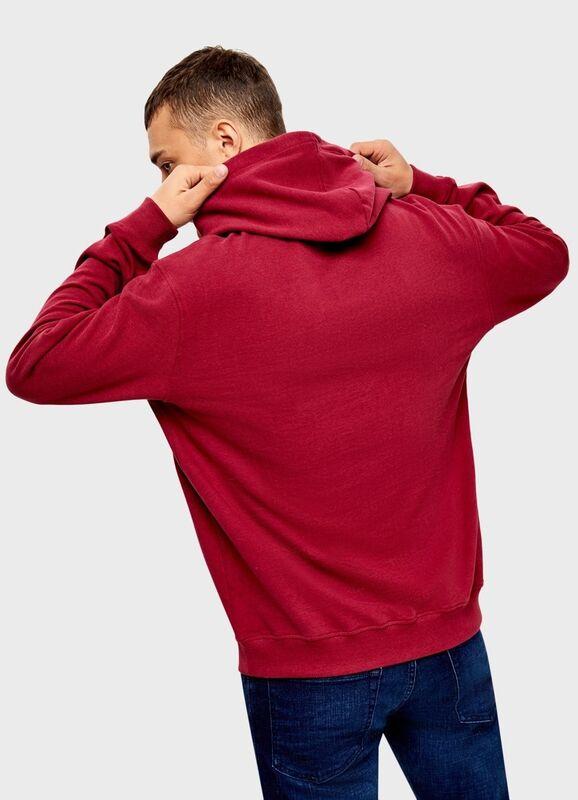 Кофта, рубашка, футболка мужская O'stin Худи с текстовым принтом MT4U31-X8 - фото 3