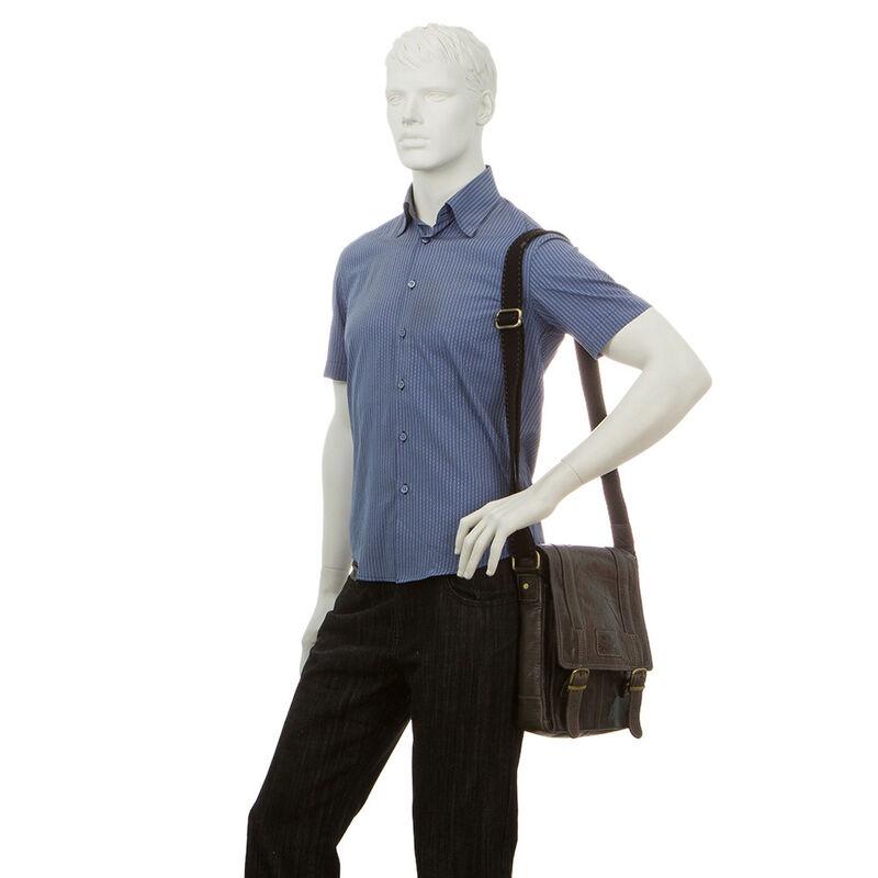 Магазин сумок Poshete Сумка мужская 196-1474-13 - фото 2