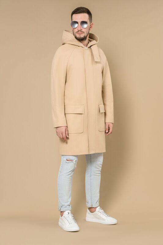 Верхняя одежда мужская Etelier Пальто мужское демисезонное 1М-8888-1 - фото 2