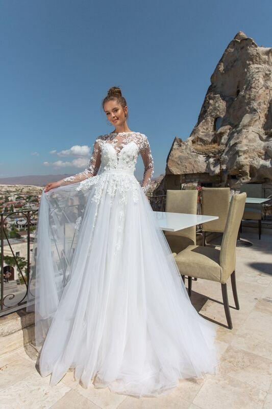 Свадебный салон Eva Lendel Свадебное платье  Navi - фото 2