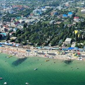 Туристическое агентство ТиШ-Тур Пляжный автобусный тур в Украину, Железный Порт, пансионат «Адмирал» - фото 1