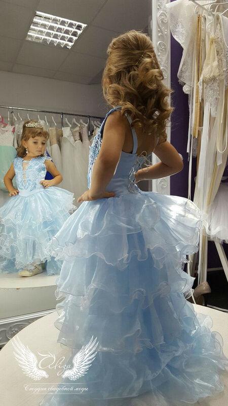 """Платье детское ALIZA Платье """"Голубое"""" - фото 1"""