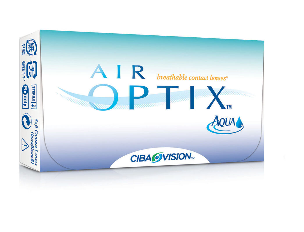 Линзы CIBA Vision Контактные линзы Air Optix Aqua - фото 1