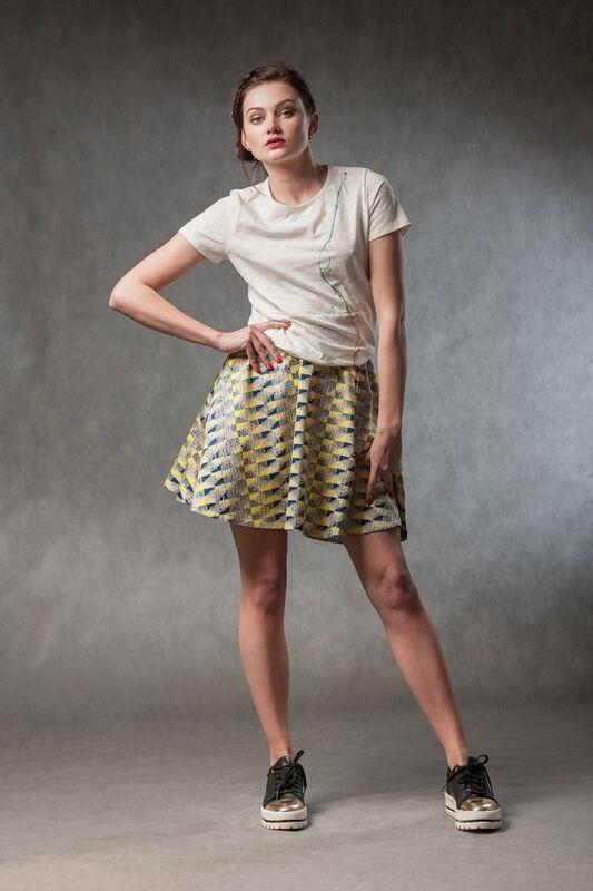 Кофта, блузка, футболка женская MISUTERI Футболка Tishatsu White SS0130 - фото 1