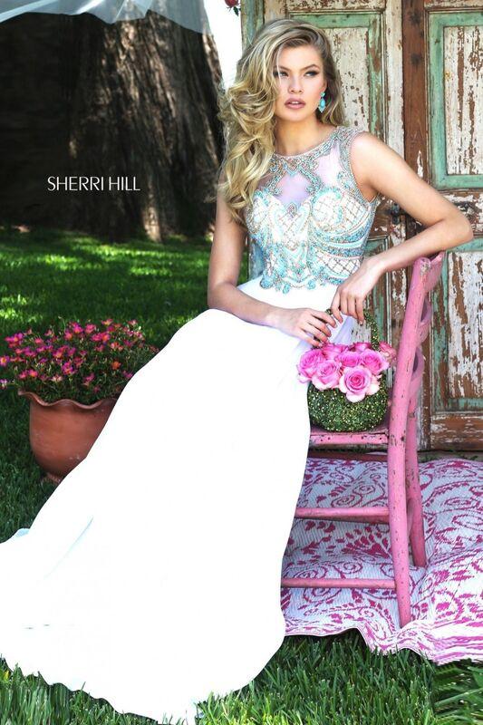 Свадебное платье напрокат Sherri Hill Платье свадебное 50160 - фото 1