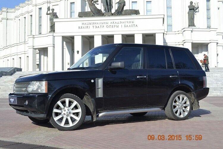 Прокат авто Range Rover Sport черного цвета - фото 6