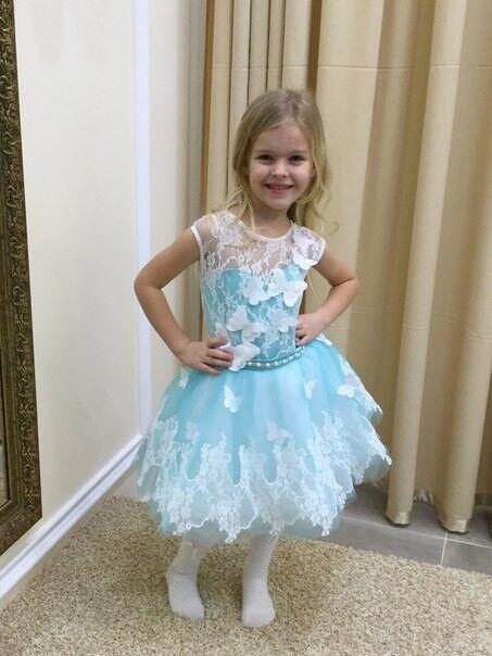 Вечернее платье Childrendress Пышное нарядное детское платье 0007-16 - фото 2