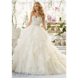 Свадебное платье напрокат Mori Lee Платье свадебное 2815 - фото 1