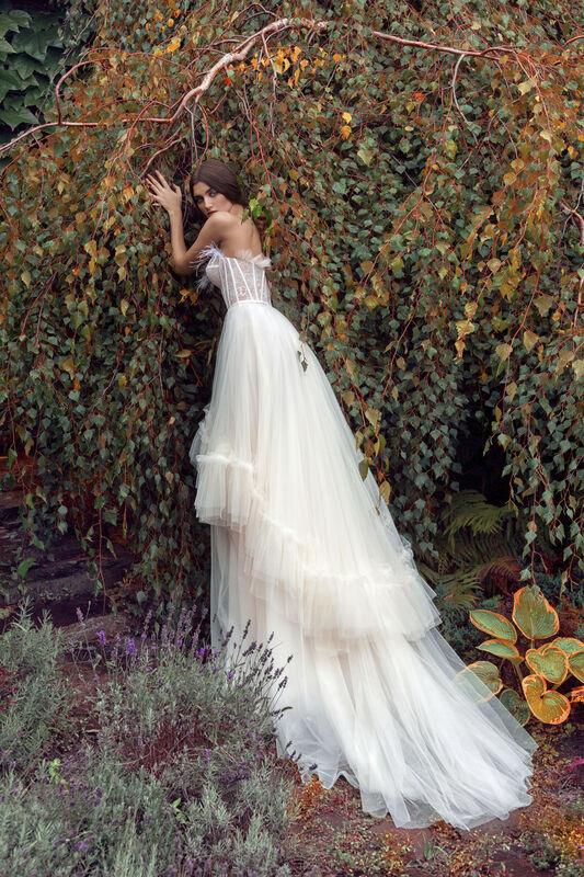 Свадебный салон Papilio Свадебное платье «Камиль» модель 19/2014L - фото 2