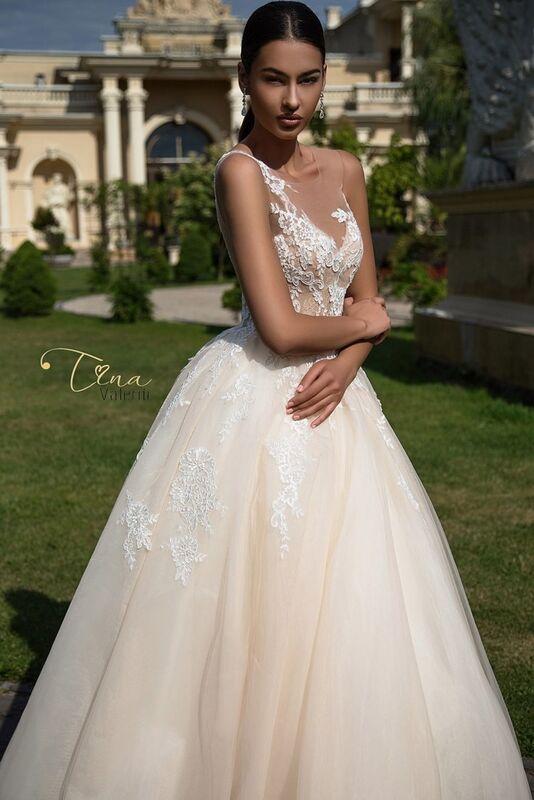 Свадебное платье напрокат Armonia Свадебное платье Constancia - фото 3