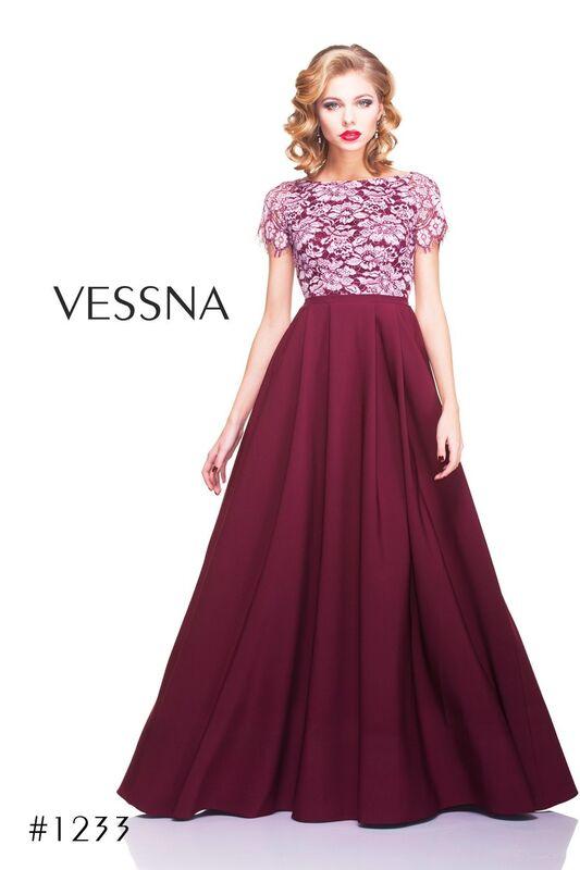 Вечернее платье Vessna Вечернее платье арт.1233 из коллекции VESSNA NEW - фото 1