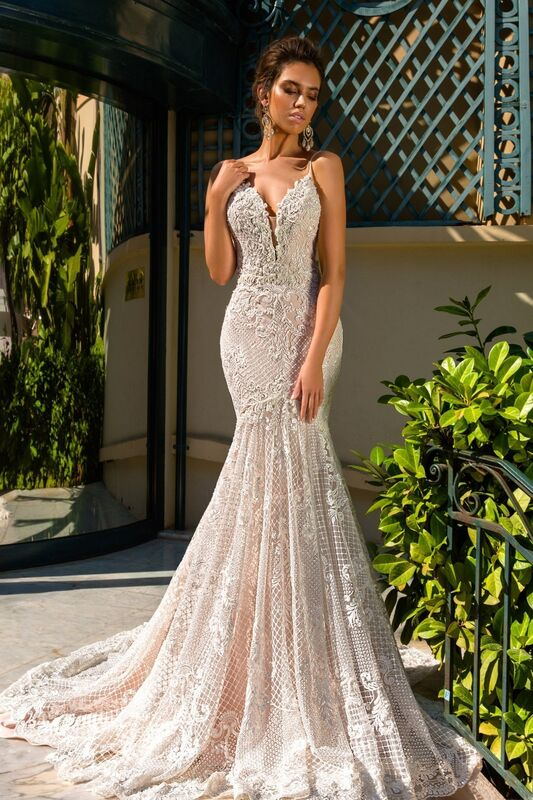 Свадебное платье напрокат Crystal Свадебное платье Fler - фото 1